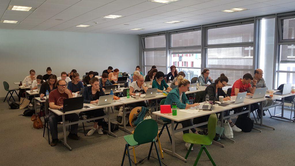 Etudiants module référencement Université de Genève 2018-2019