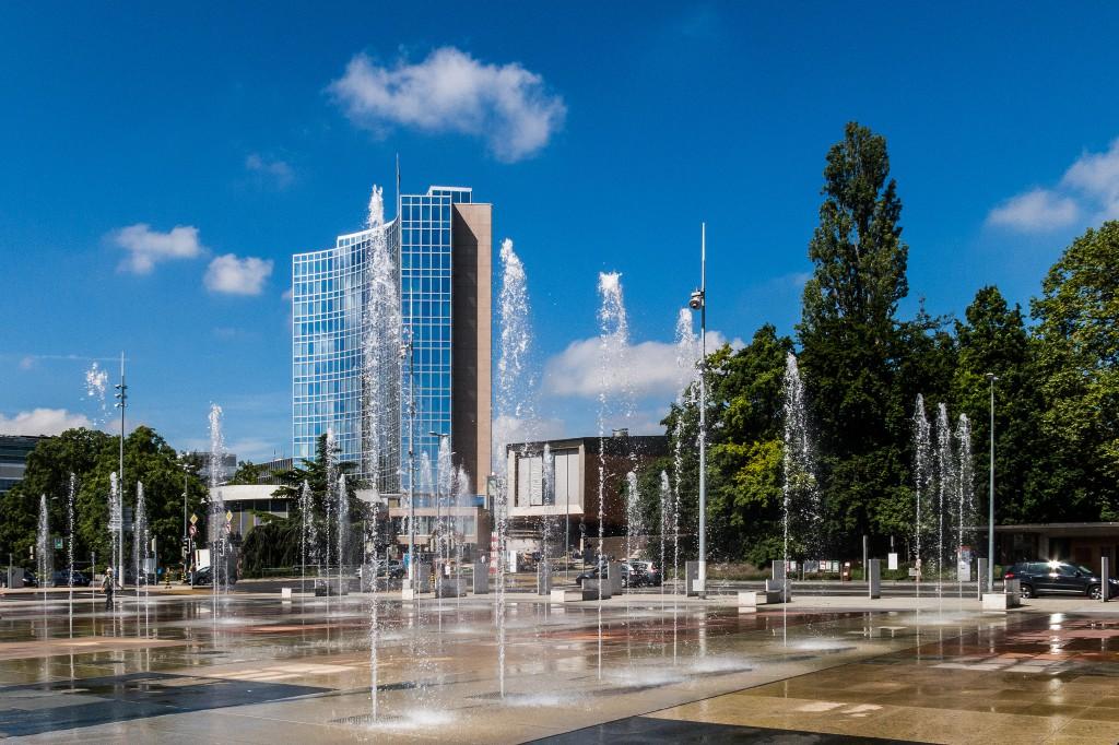 Fontaine Place des Nations