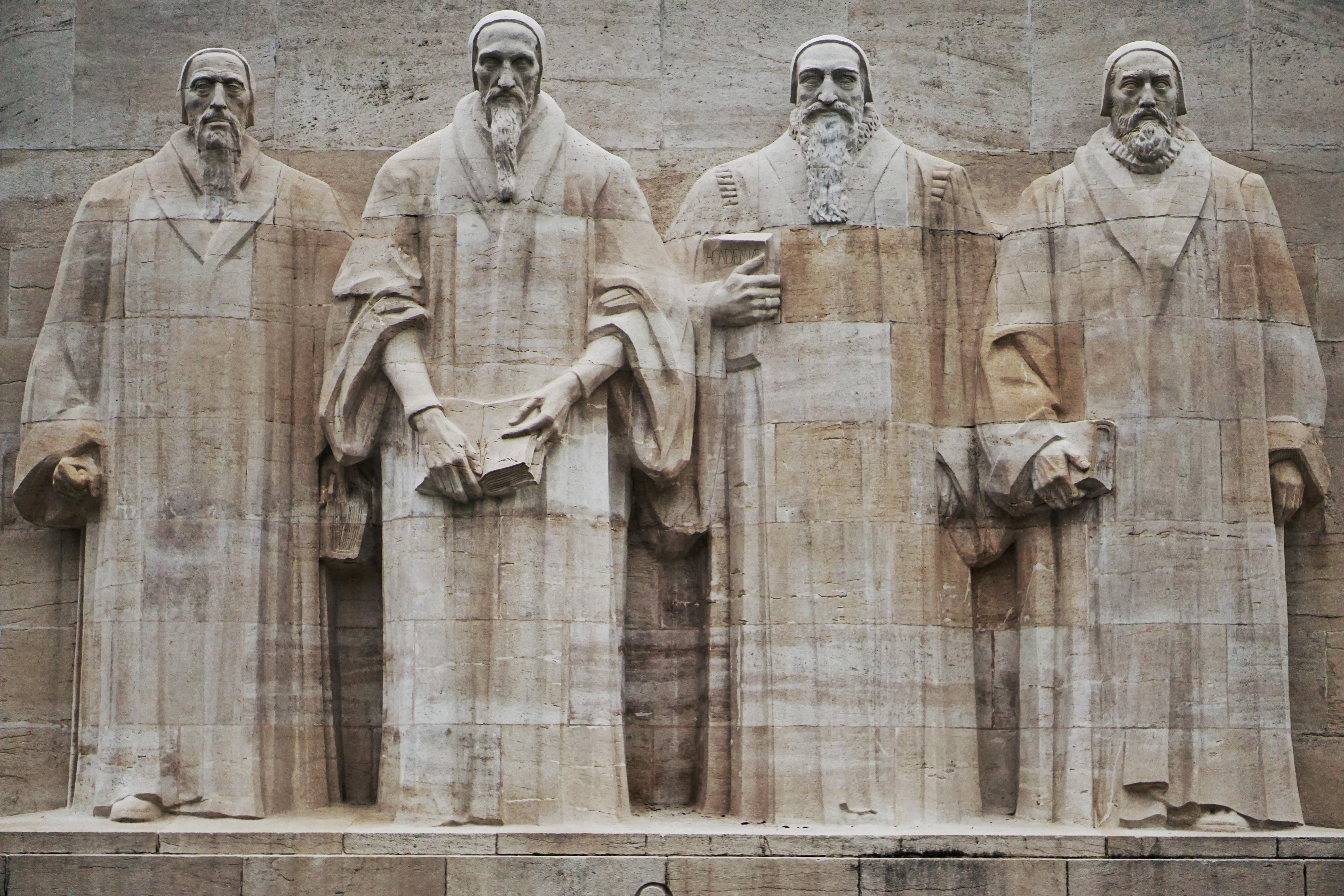 Le Mur des Réformateurs, Genève