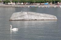 Pierre du Niton, lac du Léman, Genève, pierres du Niton