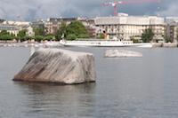 Pierres du Niton Genève lac
