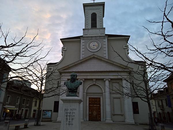 Eglise de Carouge à Carouge Genève