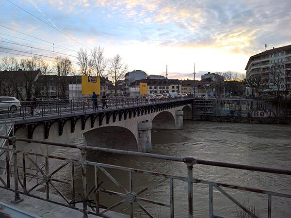 Pont de Carouge à Carouge, Genève