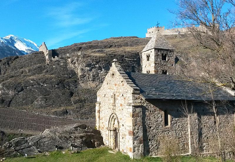 Chapelle de Tous-les-Saints sur la colline de Valère