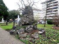 Cimetière des Rois, Genève. Tombe George Favon
