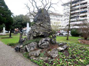Cimetière des Rois, Genève. Tombe Georges Favon