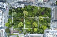 Cimetiere des Rois, Geneve. Vue aerienne avec drone