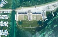 Les Bains des Pâquis, Genève, Photo drone