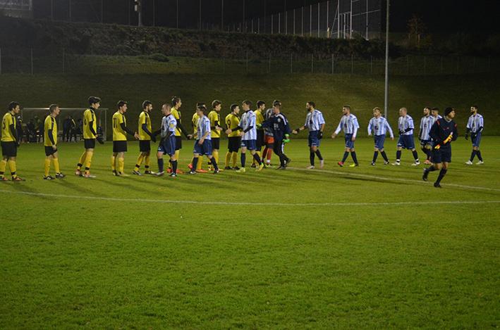 Stade Chanet Neuchâtel - Match du FC Unine au terrain naturel