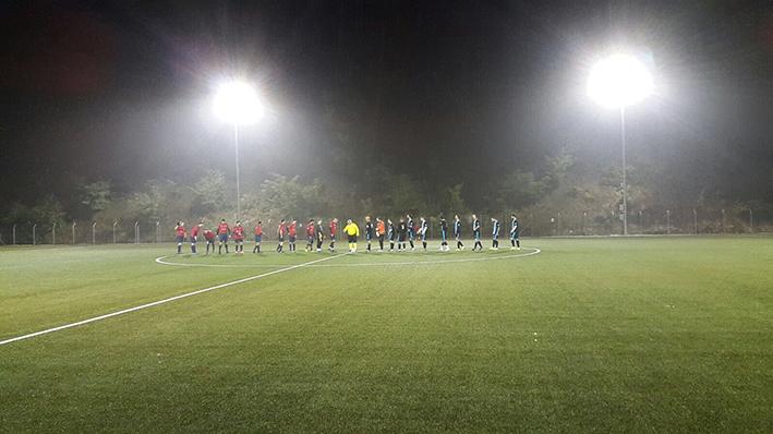 Stade Chanet Neuchâtel - Match du FC Unine au terrain synthétique
