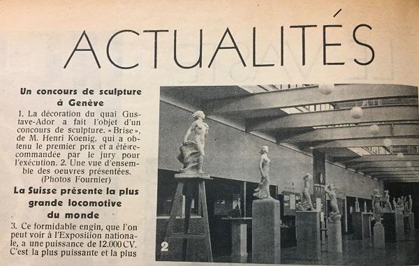 La Patrie Suisse, 1939