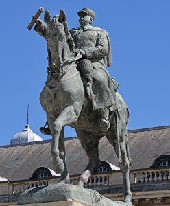 Statue du Maréchal Joffre à Paris