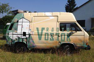 Le bus Vostok Genève