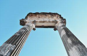 colonnes romaines de nyon, vestiges emblématiques