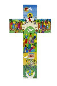 La croix salvadorienne créée pour la commémoration conjointe de la Réforme à Lund en 2016.