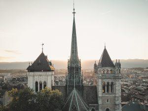 La cathédrale Saint Pierre à Genève