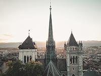 La cathédrale Saint-Pierre, Genève