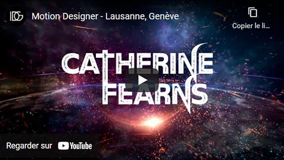 Image cliquable menant vers une vidéo promotionnelle réalisée pour Catherine Fearns